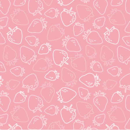 Fabric 18021 | strawberry and cream