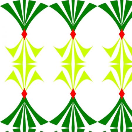 Fabric  | wzór zielony