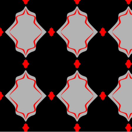 | wzór czerń