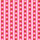 Tkanina 1968 | pink stripes