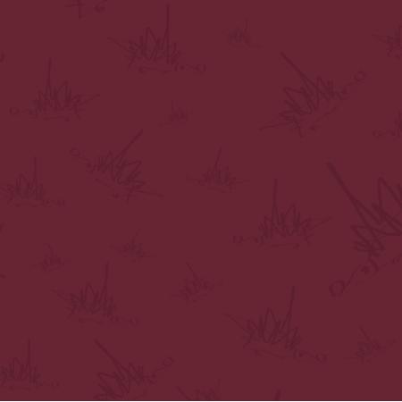 Fabric 18088 | Jeże na bordowym tle