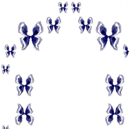 Tkanina 18109 | MOTYLE GRANAT