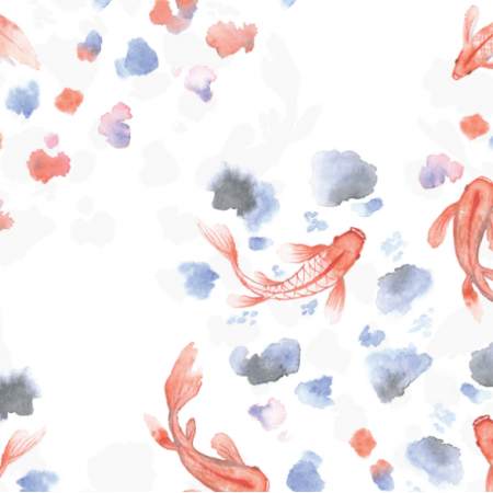 Fabric 18180 | HAPPY FISH