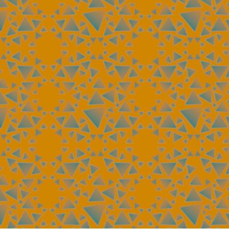 Tkanina 18239 | TRÓJKĄTY - KAFELKI - musztarda