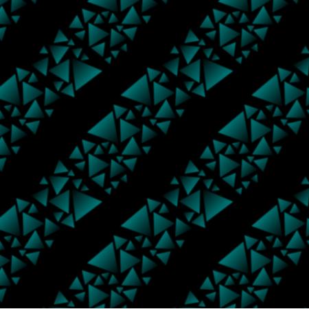 18270 | trójkąty - paski - na czarnym tle