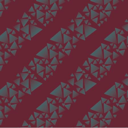 18271 | trójkąty - paski - na bordowym tle