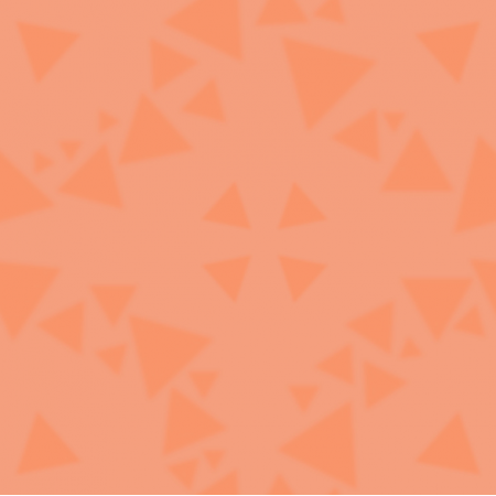 Tkanina 18292 | KAFELKI - koła i trójkąty - cantaloupe