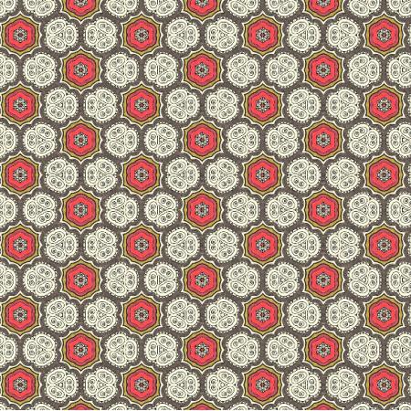 Fabric 1989 | white flowers 1