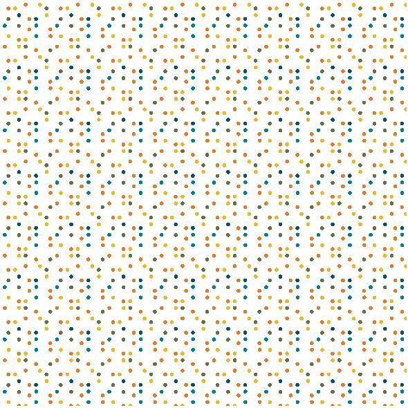 Fabric 18340 | Kropki  XL