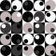Fabric 18342 | Geometryczne BW