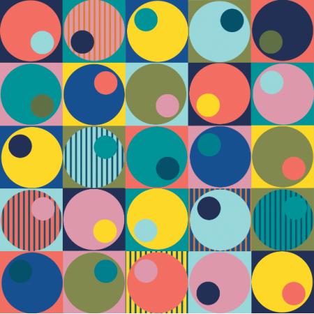 Tkanina 18343 | Geometryczne mix