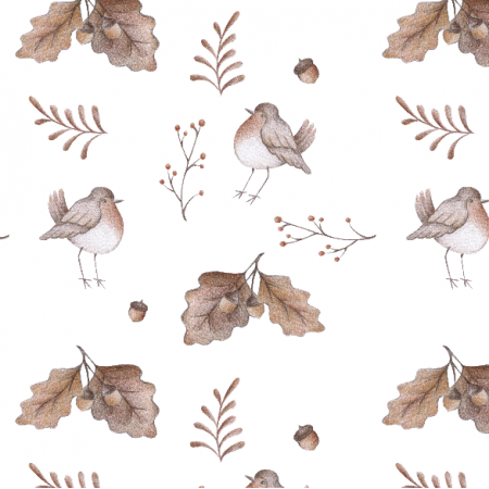Tkanina 18361 | Ptaki