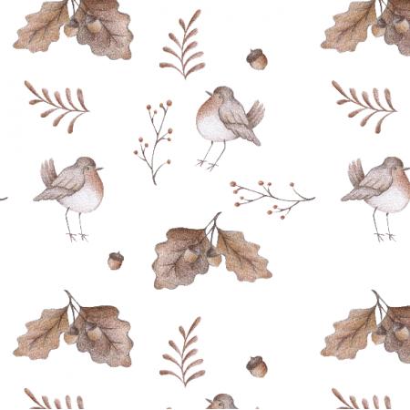 Fabric 18361 | Ptaki