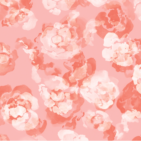 Fabric 18454 | Różowe kwiatki