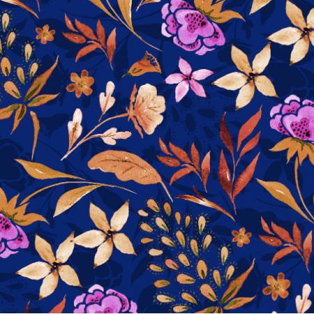 Tkanina 18472 | Navy blue