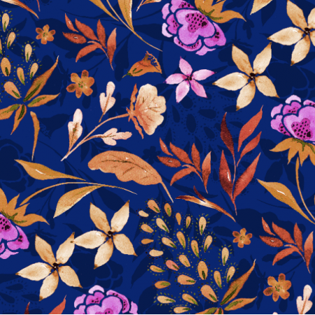 Fabric 18472 | Navy blue