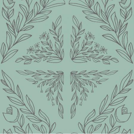 Tkanina 18484 | ornament szkicowany 152