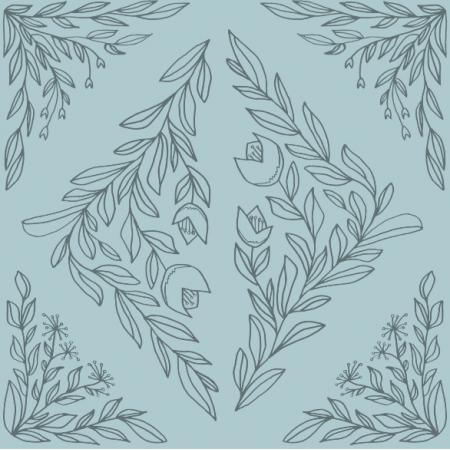Fabric 18487 | Ornament szkicowany 153