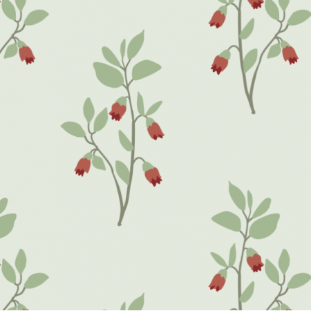 Fabric 18569 | whortleberry
