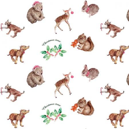 18633 | Zwierzaki świąteczne
