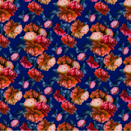 Fabric 18727 | Captivating peonies
