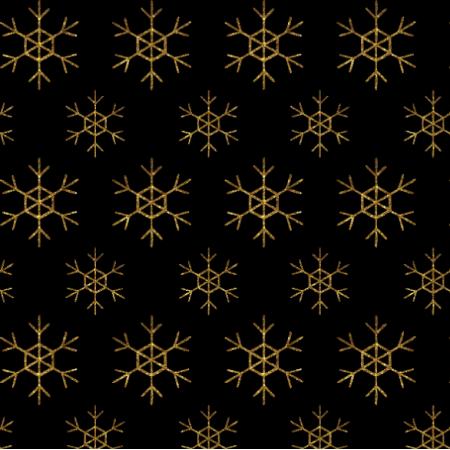 18909 | GOLDEN SNOWFLAKES