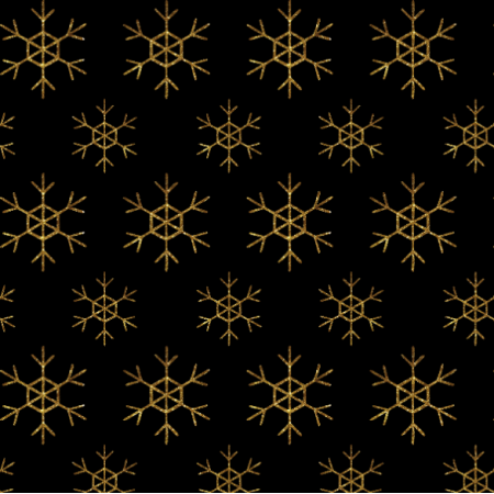 18909 | GOLDEN SNOWFLAKES