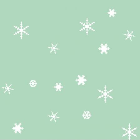 18934 | sniezynki mix minty xl