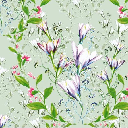 Tkanina 18992 | floral style - seria 2