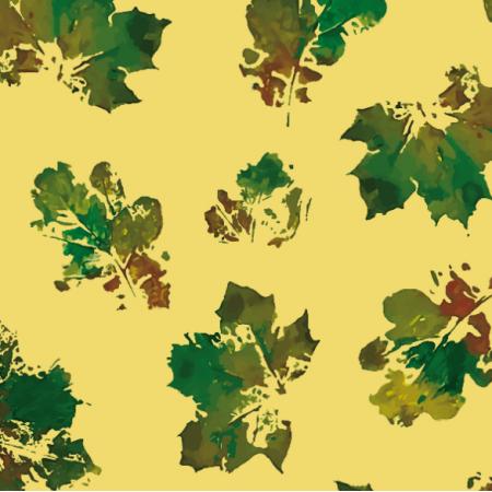 Fabric 19000 | leaves autumn big