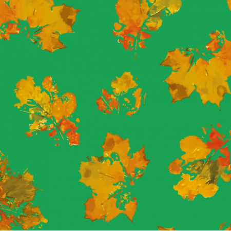 Fabric 19001 | leaves autumn big s