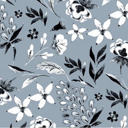 19010 | MONOCHROME  Floral