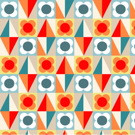 Tkanina 2071 | mosaic