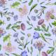 Fabric 19168   OGRÓDEK I LaWeNdowYm Tle