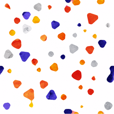 Fabric 2075 | TRIANGLE DOTS
