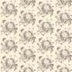 Fabric 19218 | Vanitas - Motyw z Czaszką kremowe Tło