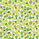 Fabric 19232 | Green and yellow hand drawn apples seamless pattern