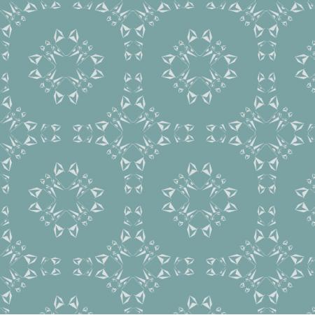 Fabric 19271 | geometryczne Lisy - kafelki na blue