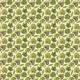 Fabric 19279 | ZIELONE LISTKI NA KREMOWYM TLE - GREEN LEAVWS