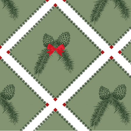 19326 | Christmas pine d