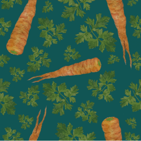 Fabric 19328 | parsley&carrots turkos