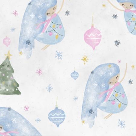 Fabric 19373 | christmas girl