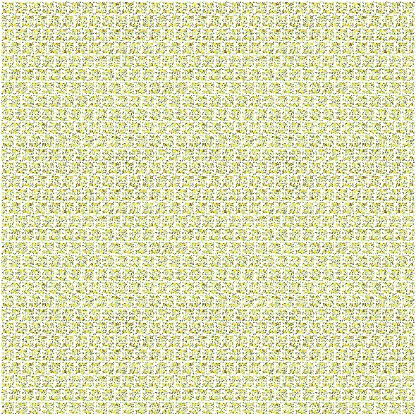 Fabric 19408 | Cytryny na białym tle