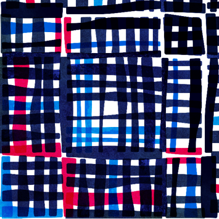 Fabric 2096 | TARTAN BY NIGHT