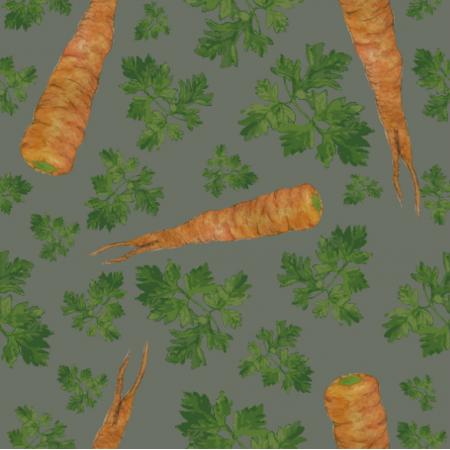 Tkanina 19430 | parsley&carrots