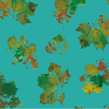 Fabric 19432 | Leaves Autumn turko