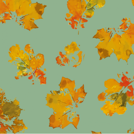 Fabric 19433 | Leaves autumn Bg