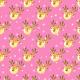 Tkanina 19497 | Cute reindeers on pink small