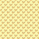 Tkanina 19498 | Cute reindeers on yellow xl