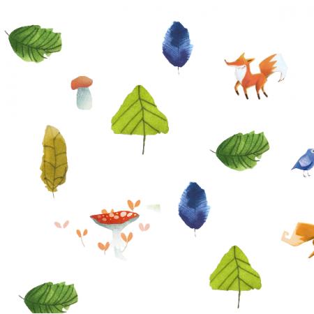 19554 | Zwierzaki i liściaki